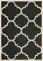 Safavieh Courtyard CY6243-266 Black and Beige