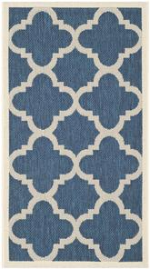 Safavieh Courtyard CY6243-268 Navy and Beige