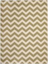 Safavieh Courtyard CY6244244 Green and Beige