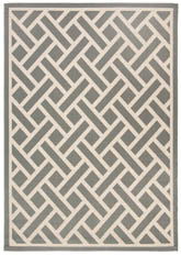 Safavieh Courtyard CY6306236 Anthracite and Light Beige