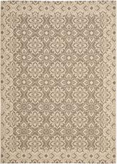 Safavieh Courtyard CY6550-22 Brown and Creme