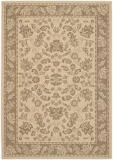 Safavieh Courtyard CY6555-22 Brown and Creme