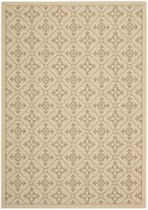 Safavieh Courtyard CY6564-12 Creme and Brown