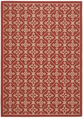 Safavieh Courtyard CY6564-28 Red and Creme