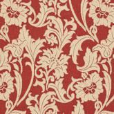 Safavieh Courtyard CY6565-28 Red and Creme