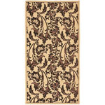 Safavieh Courtyard CY659016 Creme and Black