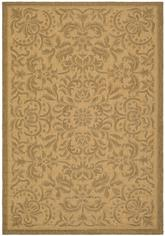 Safavieh Courtyard CY6634-39 Natural and Gold