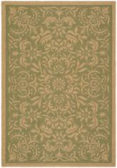 Safavieh Courtyard CY6634-44 Green and Natural