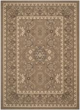 Safavieh Courtyard CY6727-22 Brown and Creme