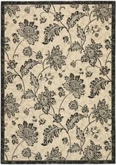 Safavieh Courtyard CY683016 Creme and Black