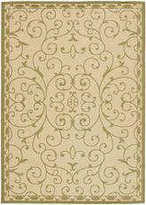 Safavieh Courtyard CY6888-14 Cream and Green