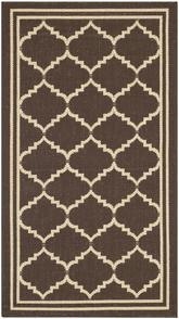 Safavieh Courtyard CY6889-204 Chocolate and Cream