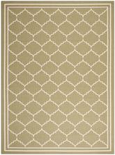 Safavieh Courtyard CY6889-244 Green and Beige