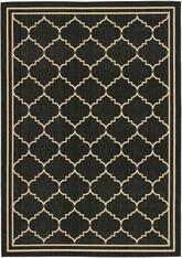 Safavieh Courtyard CY6889-26 Black and Creme