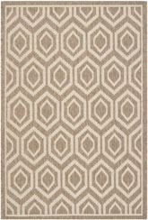 Safavieh Courtyard CY6902-242 Brown and Bone