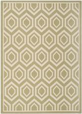 Safavieh Courtyard CY6902-244 Green and Beige