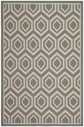 Safavieh Courtyard CY6902-246 Anthracite and Beige