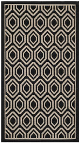 Safavieh Courtyard CY6902-266 Black and Beige