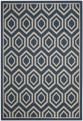 Safavieh Courtyard CY6902-268 Navy and Beige