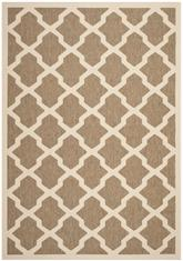 Safavieh Courtyard CY6903-242 Brown and Bone