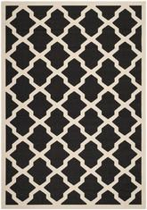 Safavieh Courtyard CY6903-266 Black and Beige
