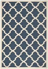 Safavieh Courtyard CY6903-268 Navy and Beige