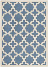 Safavieh Courtyard CY6913-243 Blue and Beige