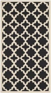 Safavieh Courtyard CY6913-266 Black and Beige