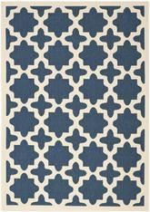 Safavieh Courtyard CY6913-268 Navy and Beige