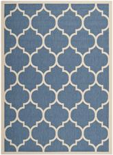 Safavieh Courtyard CY6914-243 Blue and Beige