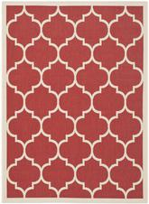 Safavieh Courtyard CY6914-248 Red and Bone