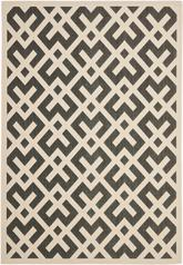 Safavieh Courtyard CY6915-216 Black and Beige