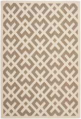 Safavieh Courtyard CY6915232 Brown and Bone