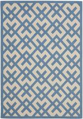 Safavieh Courtyard CY6915-243 Beige and Blue
