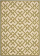 Safavieh Courtyard CY6915-244 Beige and Green