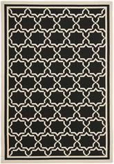 Safavieh Courtyard CY6916-226 Black and Beige