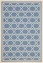 Safavieh Courtyard CY6916-243 Blue and Beige