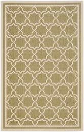 Safavieh Courtyard CY6916-244 Green and Beige