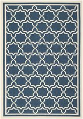 Safavieh Courtyard CY6916-268 Navy and Beige