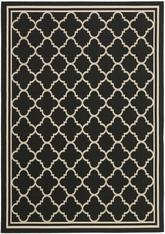 Safavieh Courtyard CY6918-226 Black and Beige