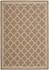 Safavieh Courtyard CY6918-242 Brown and Bone