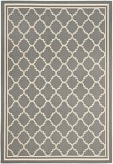 Safavieh Courtyard CY6918-246 Anthracite and Beige