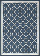 Safavieh Courtyard CY6918-268 Navy and Beige