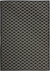 Safavieh Courtyard CY6919-226 Black and Beige