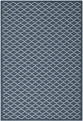 Safavieh Courtyard CY6919-268 Navy and Beige