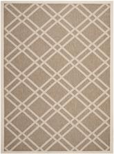 Safavieh Courtyard CY6923-242 Brown and Bone