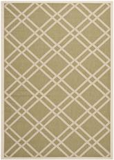 Safavieh Courtyard CY6923-244 Green and Beige
