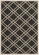 Safavieh Courtyard CY6923-266 Black and Beige