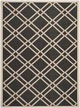 Safavieh Courtyard CY6923266 Black and Beige