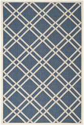 Safavieh Courtyard CY6923-268 Navy and Beige
